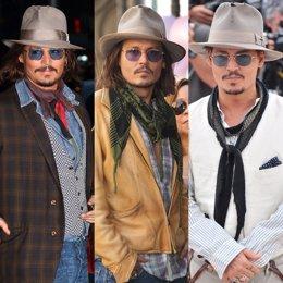Montaje De Johnny Depp Sombreros