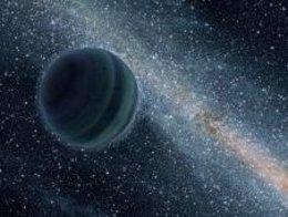 Planeta Flotando Sólo