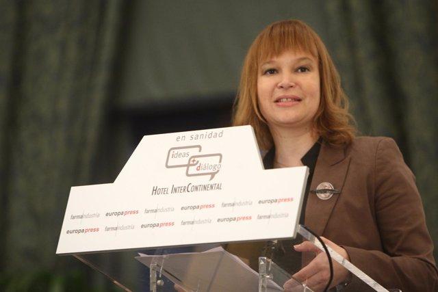 Ministra Sanidad, Política Social e Igualda, Leire Pajín.