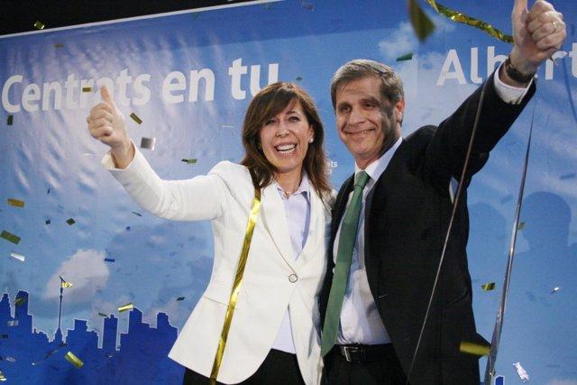 Alicia Sánchez Camacho Y Alberto Fernández Díaz, PPC