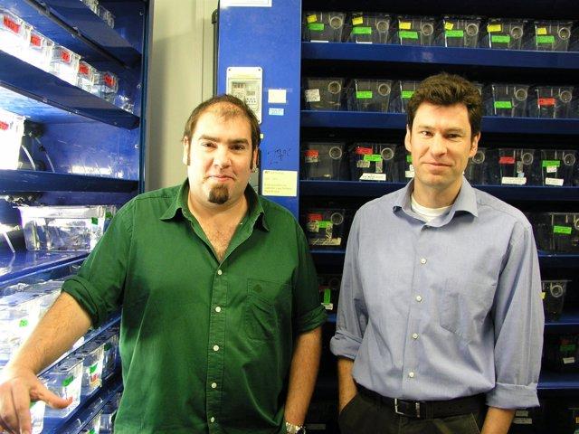 Los Investigadores José Luis Gómez Skarmeta Y Fernando Casares
