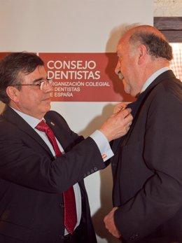 Vicente Del Bosque Recibe 'Premio Mejor Sonrisa'.