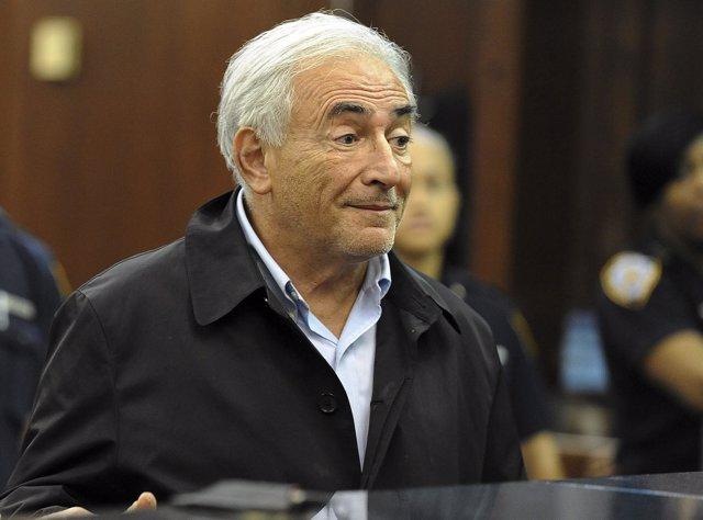 Strauss Kahn, Ex Director Gerente Del FMI