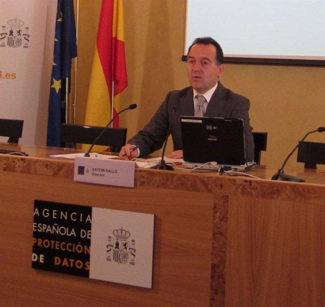 Artemi Rallo, Director De La Agencia Española De Protección De Datos
