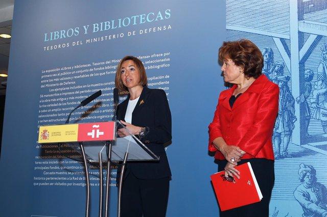 Chacón Y Cafarel En Inauguración De Exposición En Instituto Cervantes