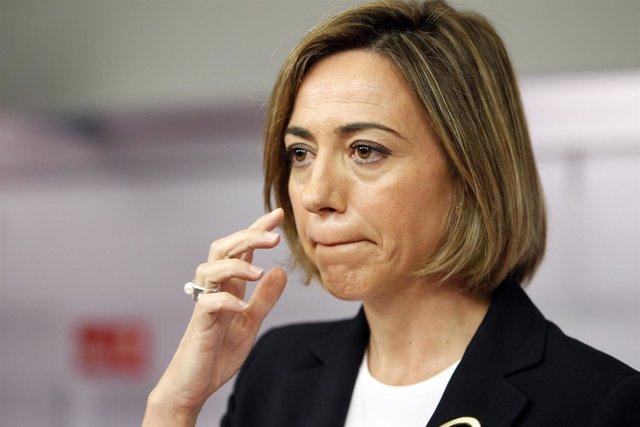 Rueda De Prensa De La Ministra De Defensa, Carme Chacón