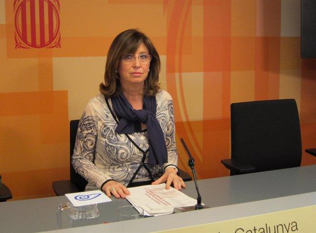 La Consellera De Enseñanza, Irene Rigau