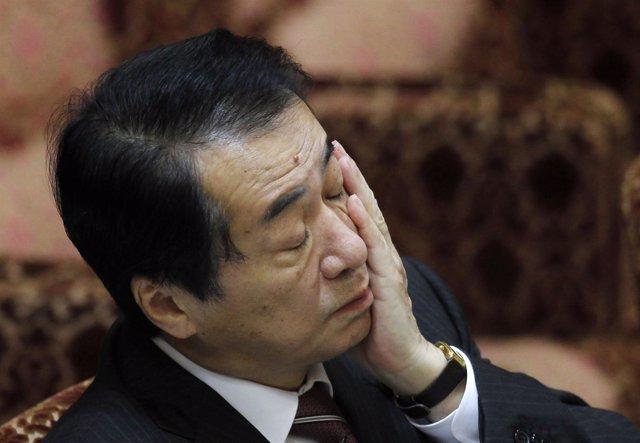 Primer ministro de Japón, Naoto Kan