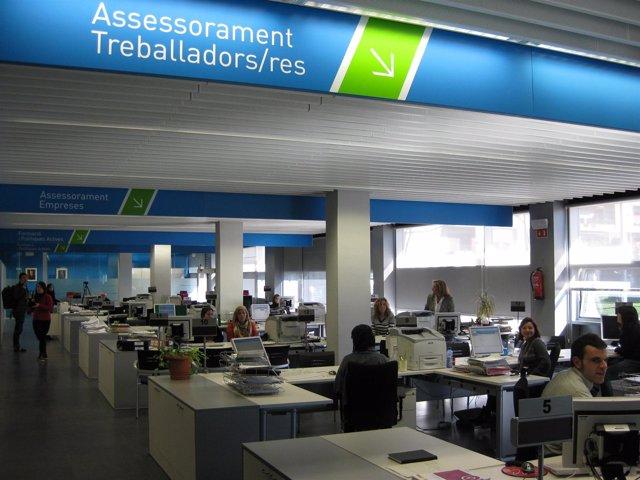 Oficina de trabajo de la Generalitat