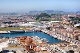Vista Del Puerto De Santander