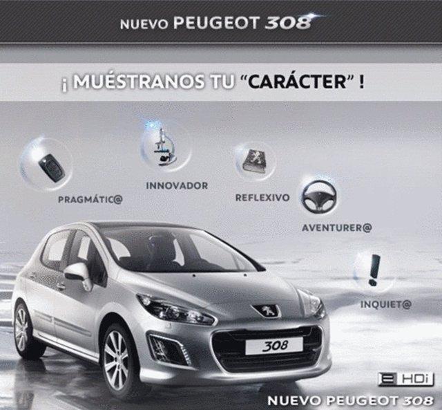 Campaña De Peugeot En Facebook