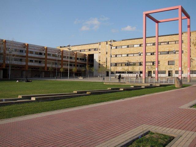 Campus Miguel De Unamuno En Salamanca.