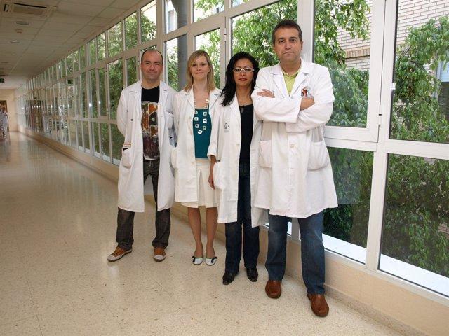 El Equipo De Cirugía Vascular Del Hospital General De Castellón
