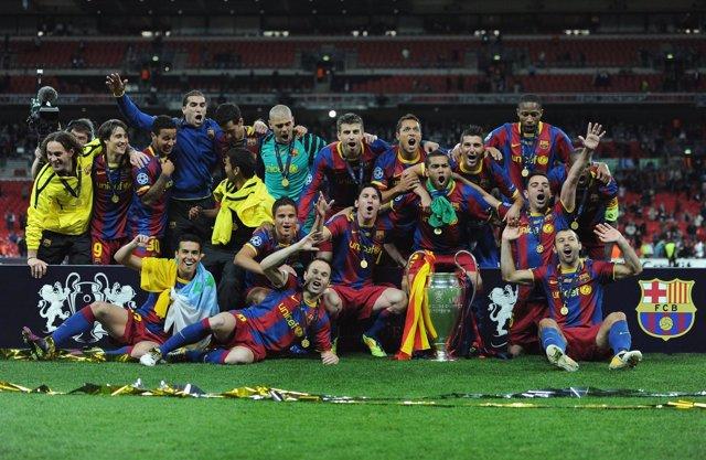 FC Barcelona, Campeón De Liga De Campeones