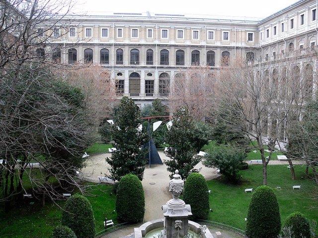 Patio Del Museo Nacional Del Centro De Arrte Reina Sofía
