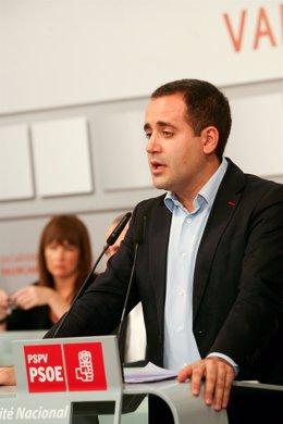 Jorge Alarte En El Comité Nacional