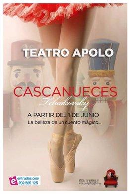 Cartel Del Espectáculo 'El Cascanueces' En Madrid
