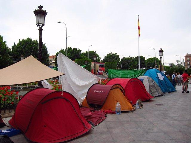 Acampada 15M En Murcia