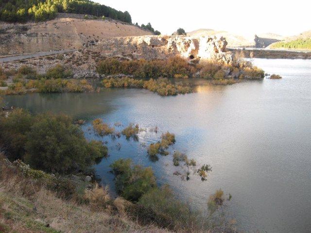 Un embalse de la Cuenca