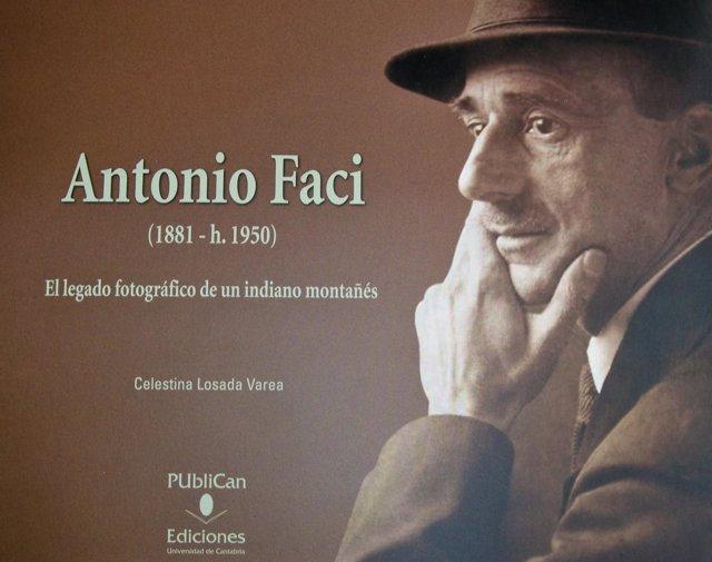 Portada Del Libro Que Recoge El Fondo Fotográfico De Antonio Faci