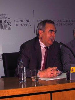 El Delegado Del Gobierno En Murcia, Rafael González Tovar
