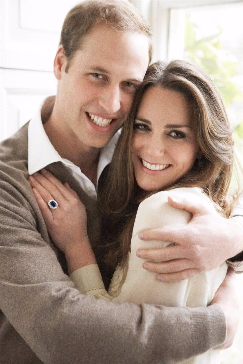 Fotografía de Mario Testino al Príncipe Guillermo y Kate Middleton