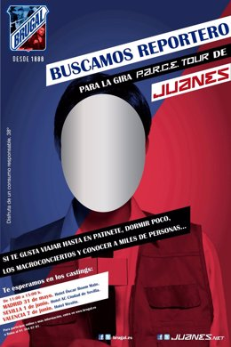 Ron Brugal Busca Reportero Para Seguir A Juanes En Su Gira Española