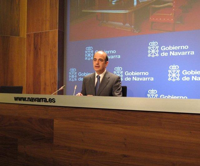 El Portavoz Del Gobierno De Navarra, Alberto Catalán