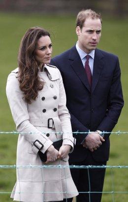 El Príncipe Guillermo y Kate Middleton