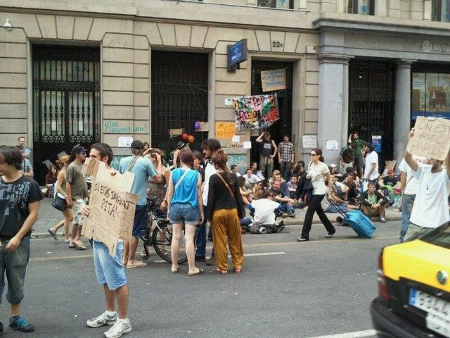 Protesta Contra El Consulado Francés