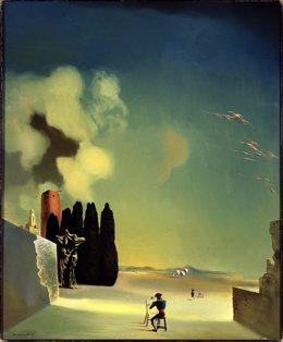 'Elementos Enigmáticos De Un Paisaje', De Dalí