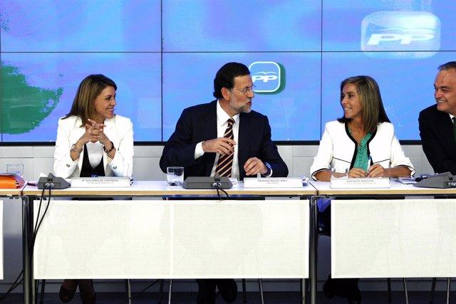 Mariano Rajoy ante el Comité Ejecutivo del PP