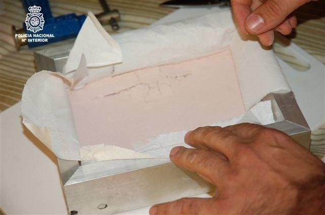 Cocaína Rosa Incautada En La Operación
