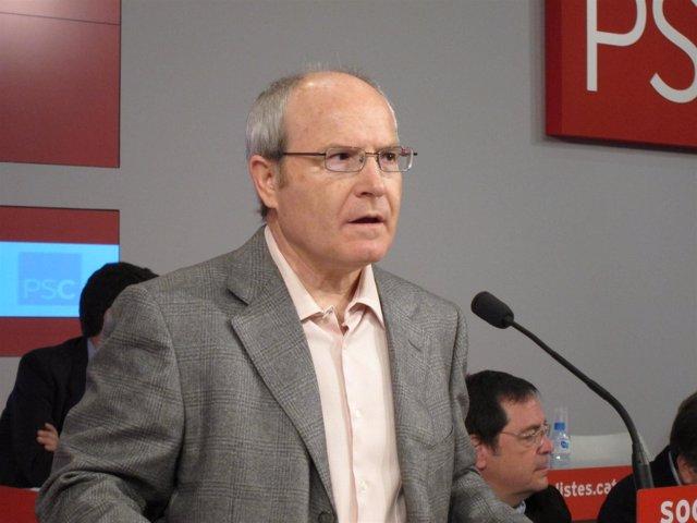 El primer secretario del PSC José Montilla