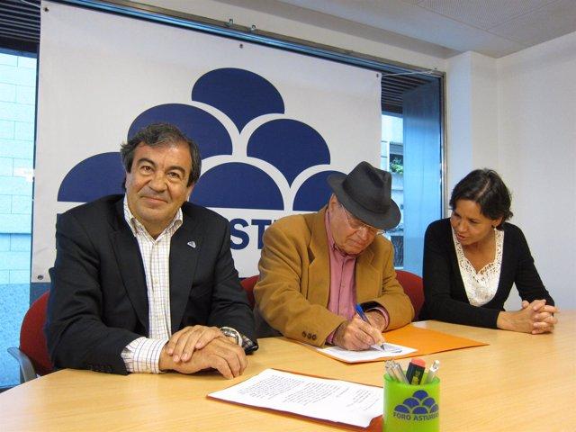 Francisco Álvarez-Cascos, Rafael Fernández Y Carmen Moriyón