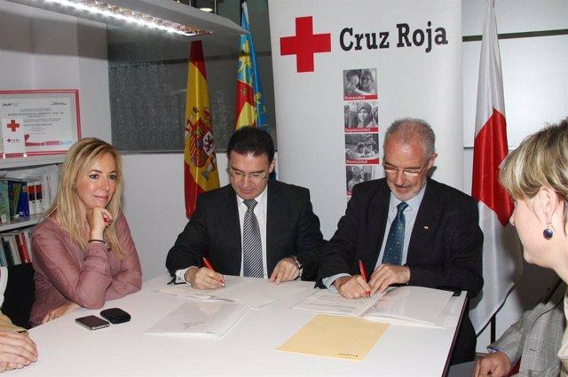 Convenio Entre Gobernación Y Cruz Roja