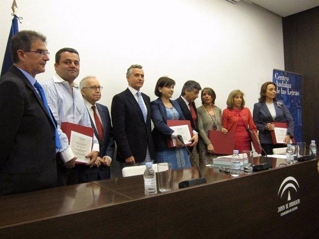 Entrega De Los XI Premios Al Fomento De La Lectura Del CAL