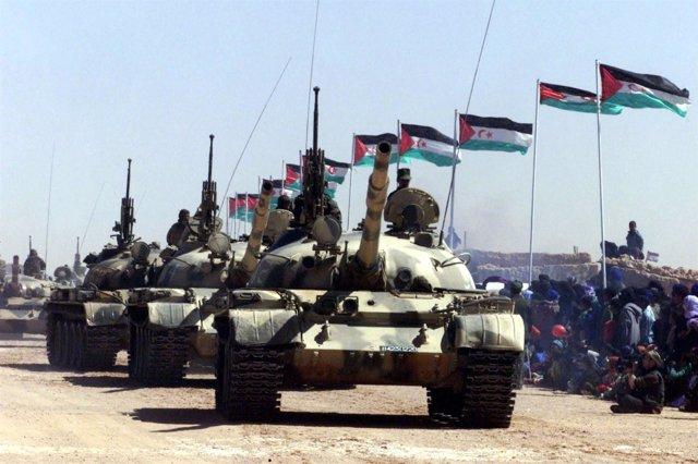Desfile Del Frente Polisario