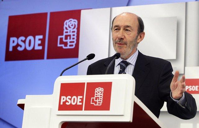 Primera RDP De Alfredo Pérez Rubalcaba