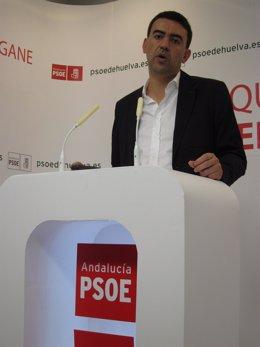 El Portavoz Del Grupo Socialista En El Parlamento Andaluz, Mario Jiménez.
