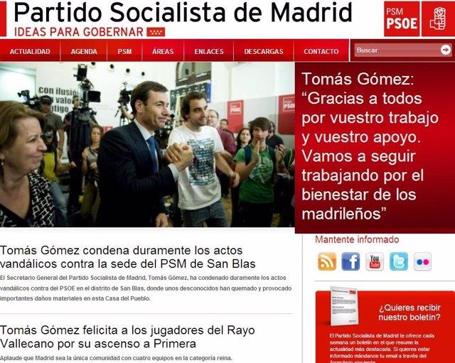 Página Web PSM