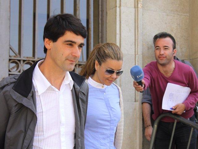 Jesulín Y Campanario Salen De La Audiencia Provincial De Cádiz