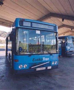 Autobus De Euskotren.