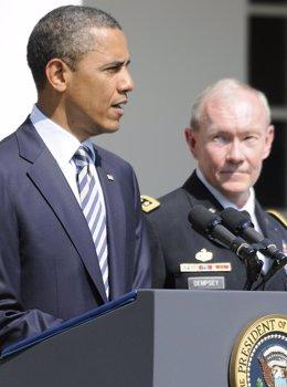 Obama Nombra A Dempsey Nuevo Jefe Del Estado Mayor Conjunto De EEUU