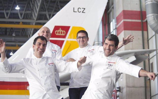 Paco Roncero, Ramón Freixa, Toño Pérez Y Dani García Asesorará A Iberia