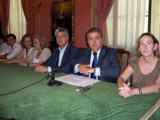 El Alcalde Electo De Sevilla, Juan Ignacio Zoido