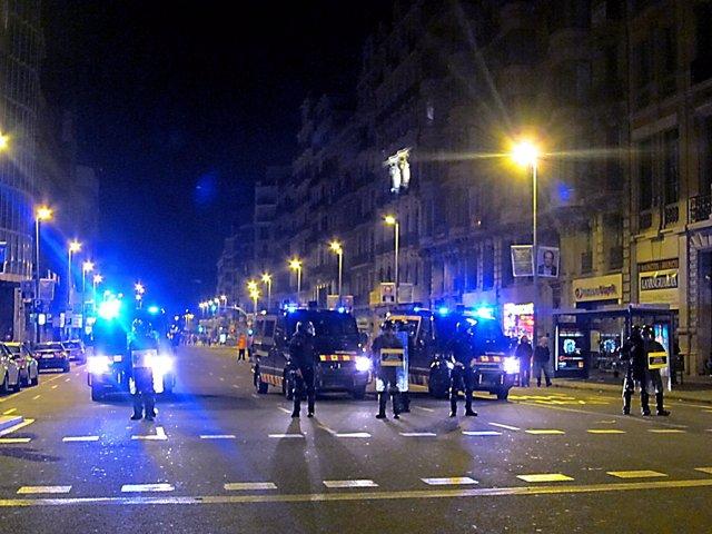 Antidisturbios De Mossos