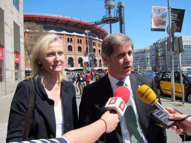 Alberto Fernández y Àngels Esteller (PP)