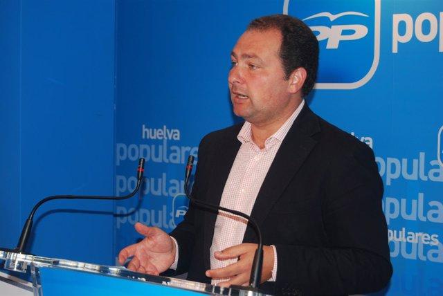 El Secretario General Del PP En Huelva, David Toscano.