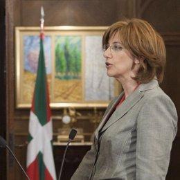 Blanca Urgell, consejera de Cultura del gobierno vasco